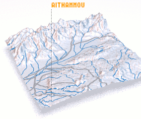 3d view of Aït Hammou