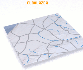 3d view of El Bouazda