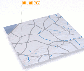 3d view of Oulad Zez