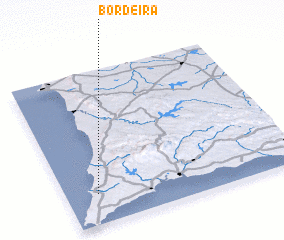 3d view of Bordeira