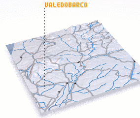 3d view of Vale do Barco