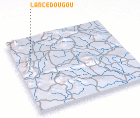3d view of Lancédougou