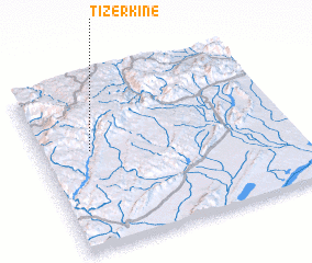 3d view of Tizerkine