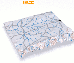3d view of Belziz