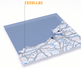 3d view of Cesullas
