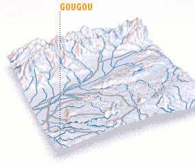 3d view of Gougou