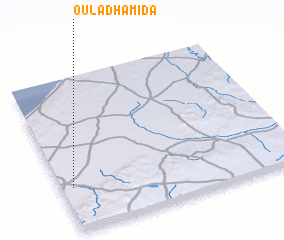 3d view of Oulad Hamida
