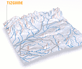 3d view of Tizguine