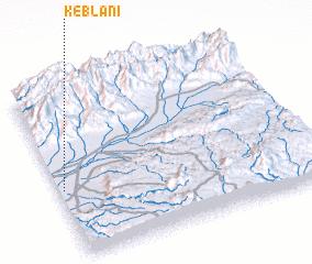 3d view of Keblani