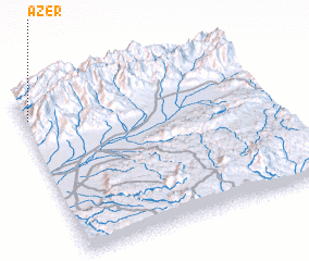 3d view of Azer