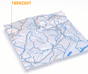 3d view of Tarhzout