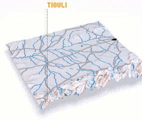3d view of Tiouli