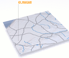 3d view of El Magar