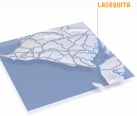 3d view of La Sequita