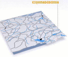 3d view of Esquina de Bernia