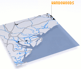 3d view of Wando Woods