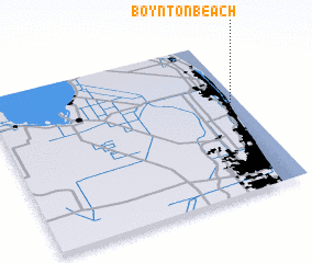 3d view of Boynton Beach
