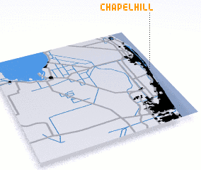 3d view of Chapel Hill