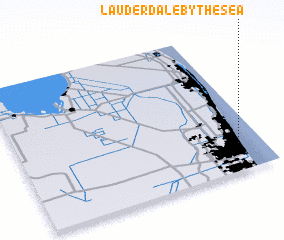 3d view of Lauderdale-by-the-Sea
