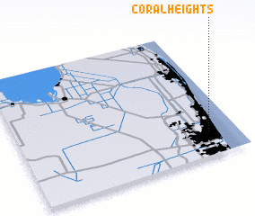 3d view of Coral Heights