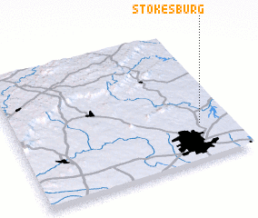 3d view of Stokesburg