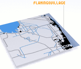 3d view of Flamingo Village