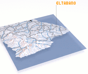 3d view of El Tábano