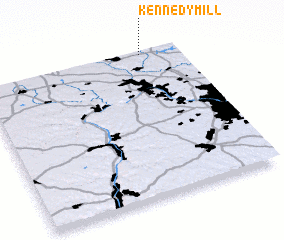 3d view of Kennedy Mill