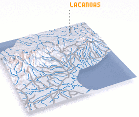 3d view of La Canoas