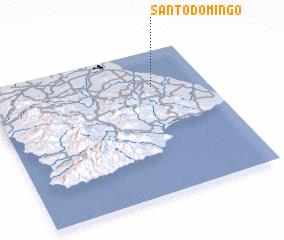 3d view of Santo Domingo