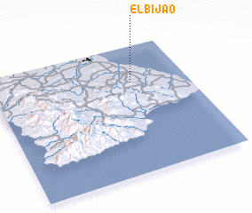 3d view of El Bijao