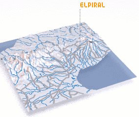3d view of El Piral