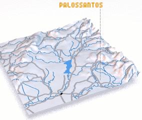 3d view of Palos Santos