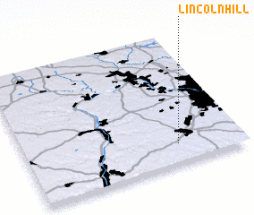 3d view of Lincoln Hill