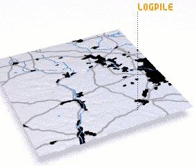3d view of Log Pile