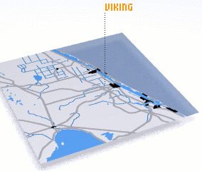 3d view of Viking