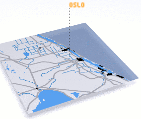 3d view of Oslo