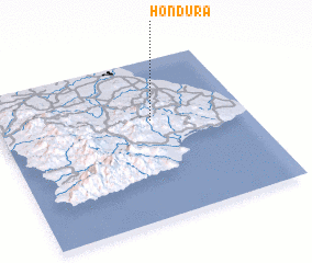 3d view of Hondura