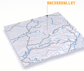 3d view of Hacker Valley