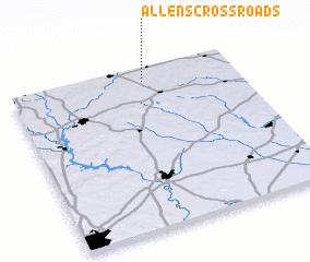 3d view of Allens Crossroads