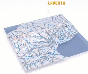 3d view of La Venta