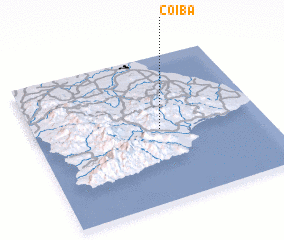 3d view of Coiba
