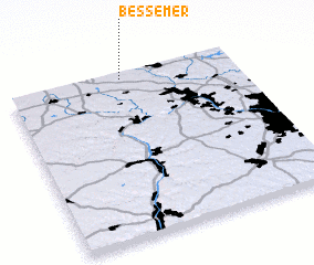 3d view of Bessemer