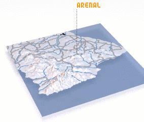 3d view of Arenal
