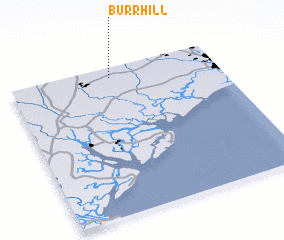 3d view of Burr Hill