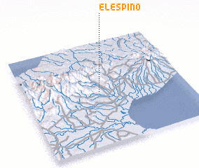 3d view of El Espino