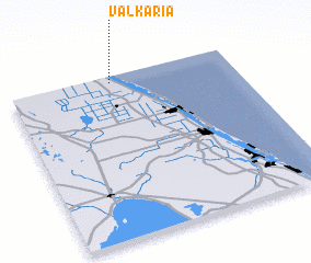 3d view of Valkaria