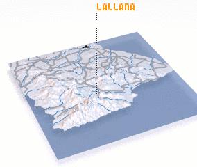 3d view of La Llana