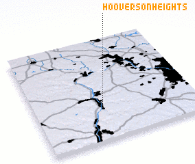 3d view of Hooverson Heights