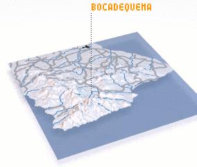 3d view of Boca de Quema